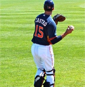 Astros Jason Castro Spring Training
