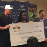 HEB Gives J.J. Watt's Fund $5 Million
