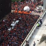 Astros World Series Parade (Fan Reaction)